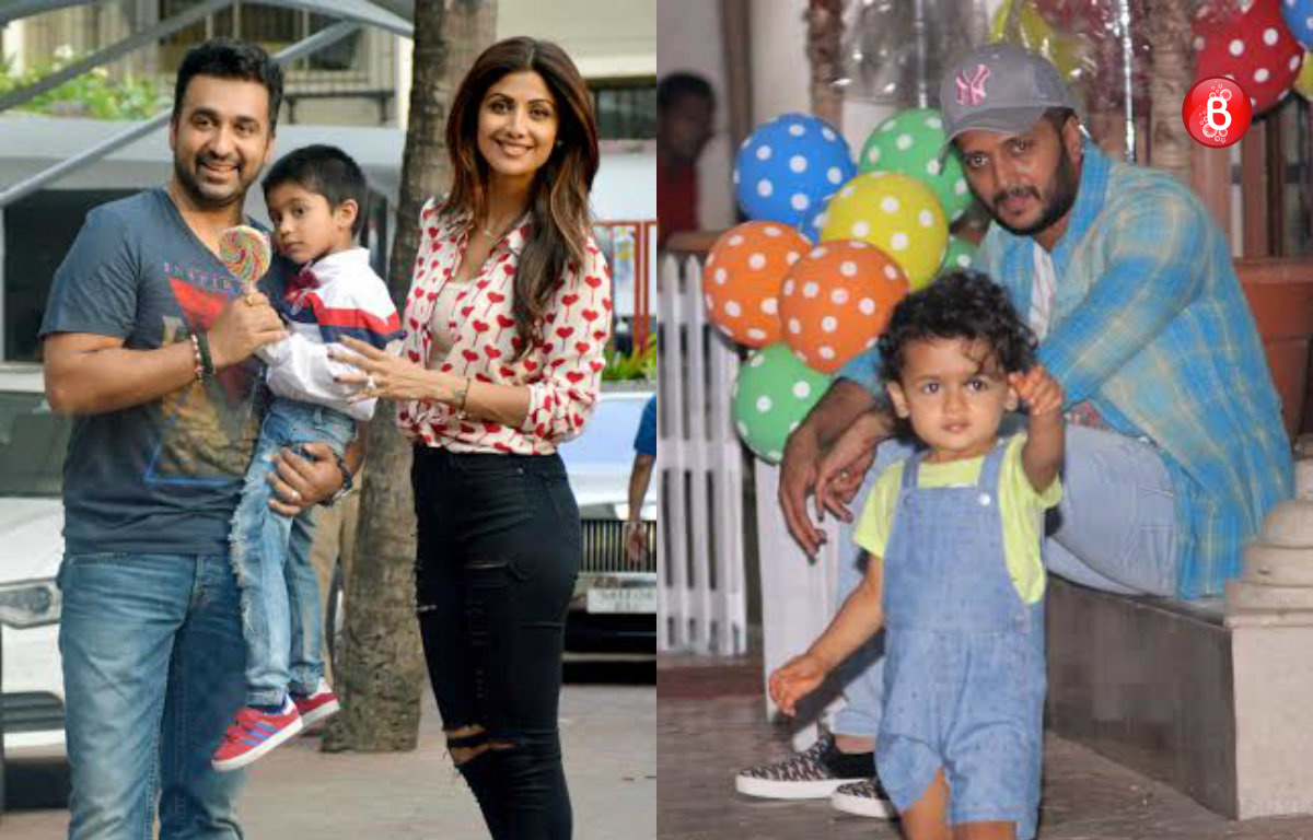 PICS: Shilpa Shetty's son Viaan celebrates birthday with his B-town's little brigade