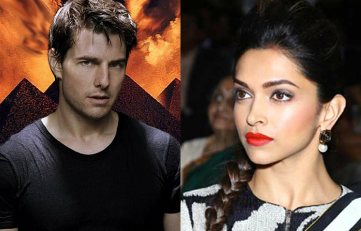 Deepika Padukone rejected for Tom Cruise's 'The Mummy Reboot'?