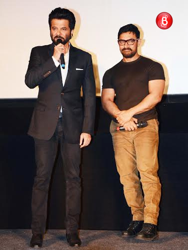 Anil Kapoor and Aamir Khan