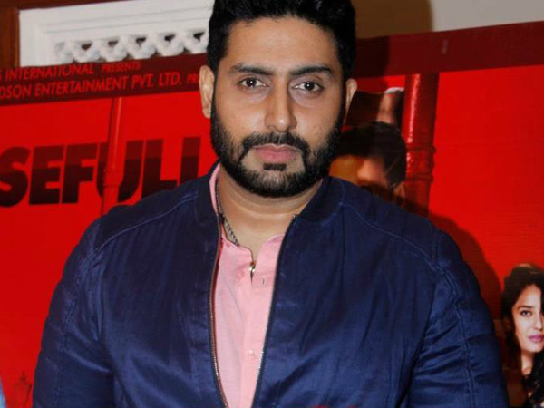 Abhishek Bachchan won't be doing comedy films for now