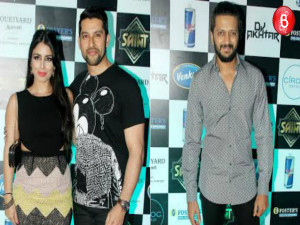 Aftab Shivdasani's bash for close friends