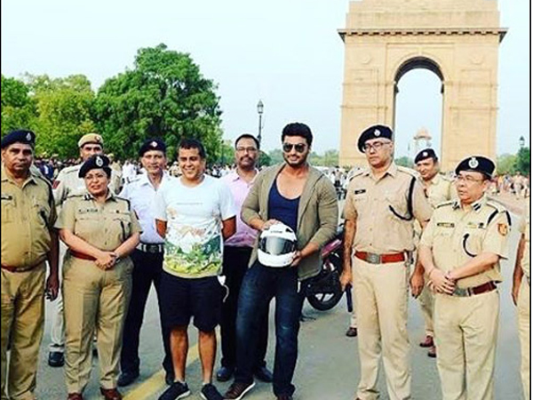 Arjun Kapoor joins hands with Delhi Traffic Police for a cause