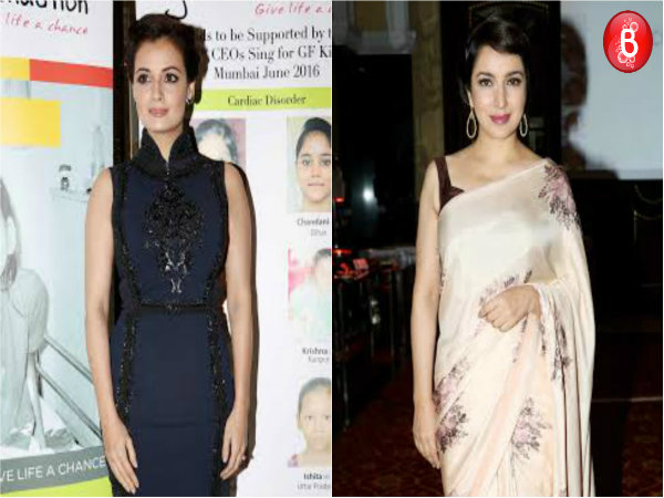 SPOTTED: Dia Mirza and Tisca Chopra at Genesis Foundation Fund Raising Event