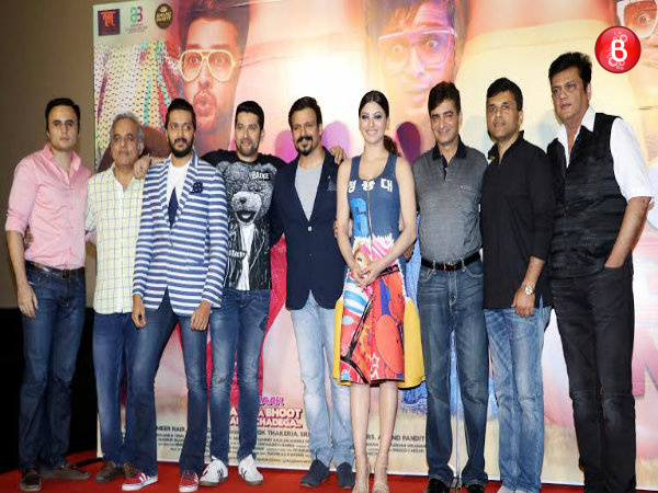 PICS: Grand trailer launch of 'Great Grand Masti', completely fun-filled