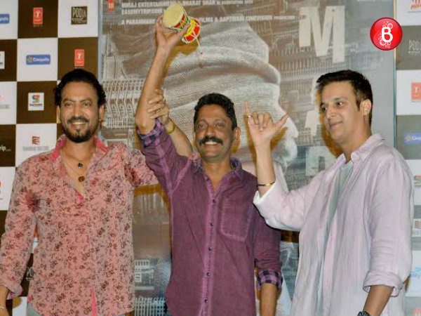 PICS: 'Madaari' Irrfan Khan makes everyone play damroo at 'Dama Dam' song launch