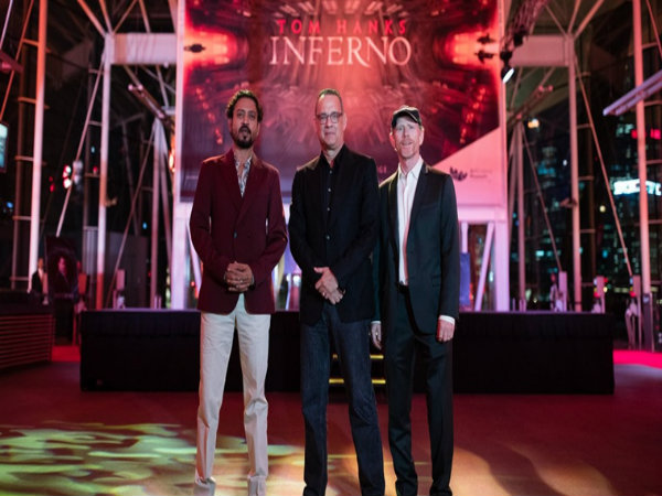 Irrfan Khan walks red carpet with Tom Hanks for 'Inferno' in Singapore