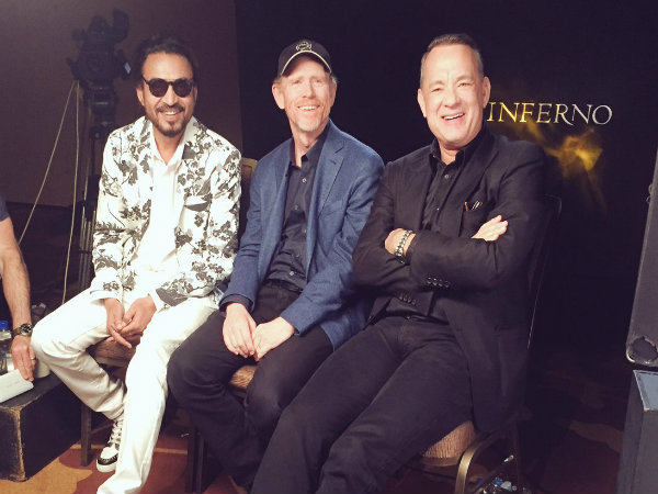 Irrfan Khan reunites with Tom Hanks for promotions