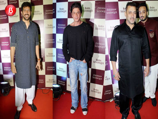 PICS: Salman Khan, Shah Rukh Khan and others attend Baba Siddique's Iftaar party