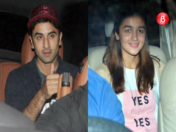 PICS: Ranbir Kapoor, Alia Bhatt and others attend screening of Marathi film 'Sairat'