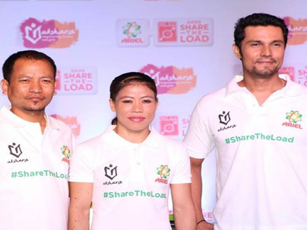 WATCH: Randeep Hooda and Mary Kom at 'Be the Change' event
