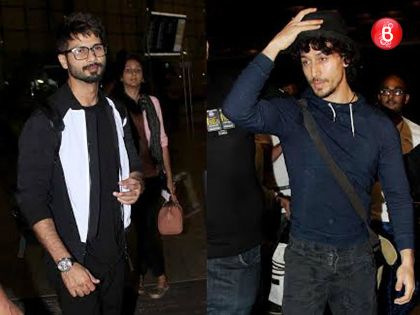 PICS: Shahid Kapoor, Tiger Shroff and others head to Spain for IIFA Awards 2016
