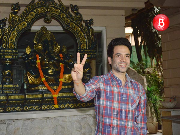 PICS: Tusshar Kapoor announces his surrogate baby's birth in a press conference