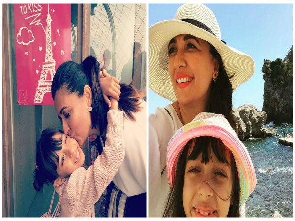 In Pics: Mini Mathur and her little girl are having the time of their lives in Paris
