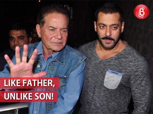 Is Salman Khan an embarrassment for his father Salim Khan?