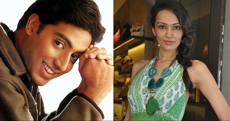 Abhishek Bachchan and Dipannita Sharma