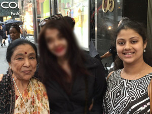 Look who Asha Bhosle bumped into in NYC