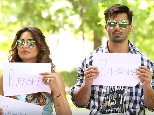 In Video: Bipasha Basu and Karan Singh Grover reveal who is a better driver?