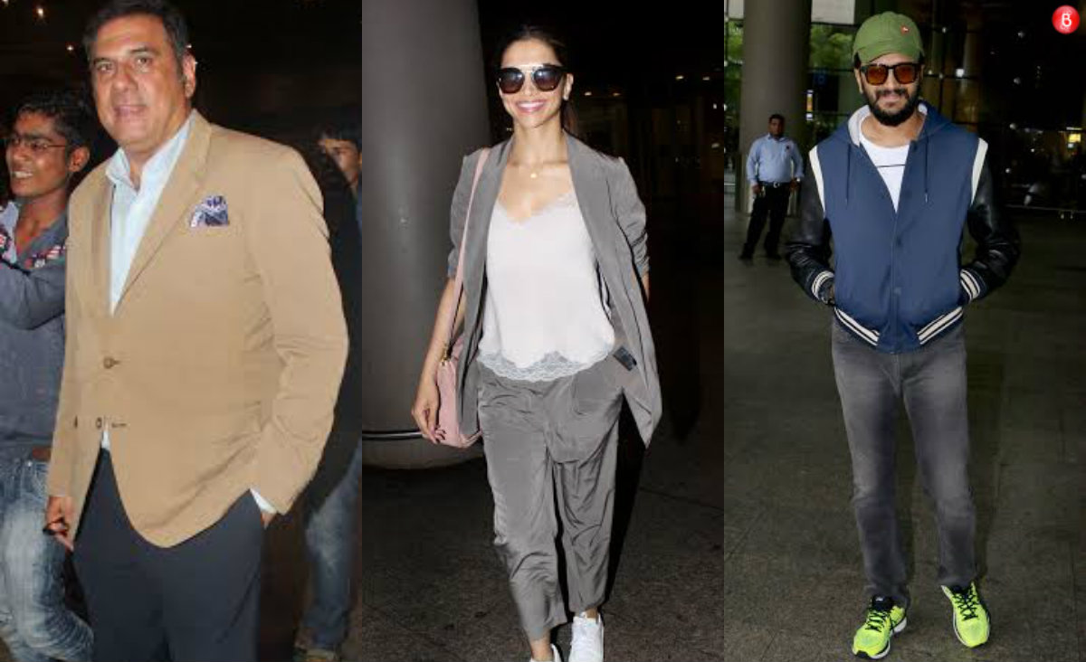 PICS: Bollywood celebrities spotted at Mumbai airport