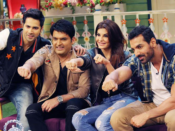 Dishoom' stars join fun on 'The Kapil Sharma Show' | Bollywood Bubble