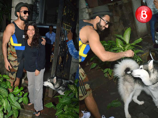 SPOTTED: Ranveer Singh, Zoya Akhtar and others outside Excel Entertainment's office
