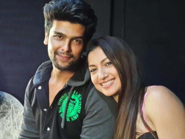 Gauahar Khan and Kushal Tandon's fight gets ugly