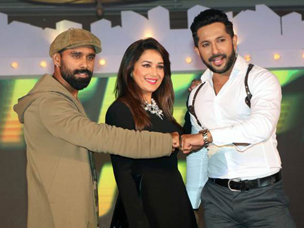 Madhuri Dixit Nene: Have learnt so much from Terence and Bosco