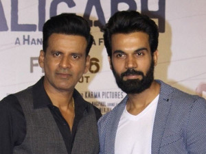 Manoj Bajpayee and Rajkummar at 7th Jagran Film Festival