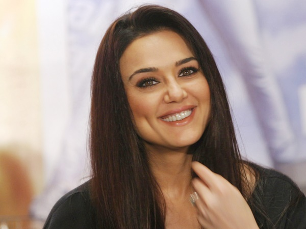 Preity Zinta shoots for her first film post marriage