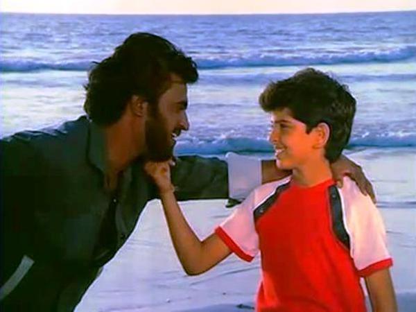 Image result for hrithik roshan childhood pics
