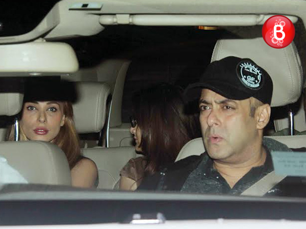 PICS: Salman Khan and Iulia Vantur spotted partying with Khan family