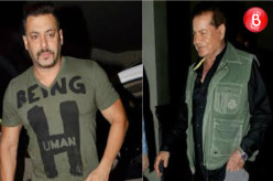 Salman Khan and Salim Khan