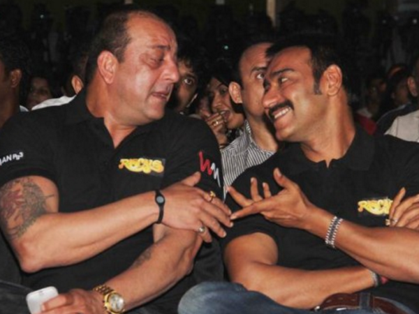 Will Sanjay Dutt, Ajay Devgn have to battle it out?
