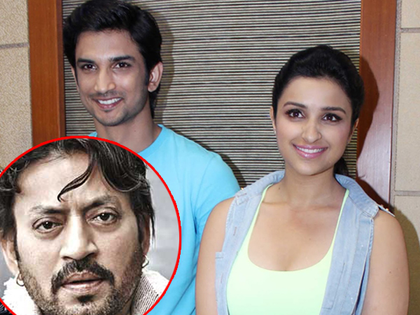 'Takadum' for Sushant Singh Rajput, Irrfan Khan and Parineeti Chopra