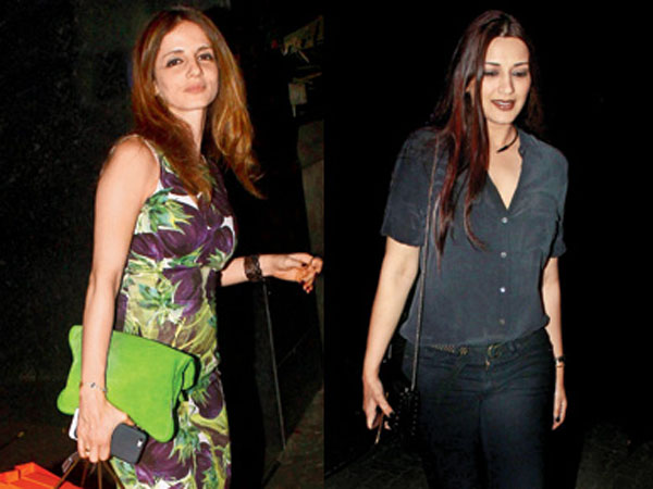PICS: Sonali Bendre and Sussanne Khan on a holiday in London