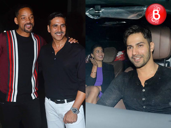 PICS: Will Smith and B-Town celebs at Akshay Kumar's success party for 'Rustom'