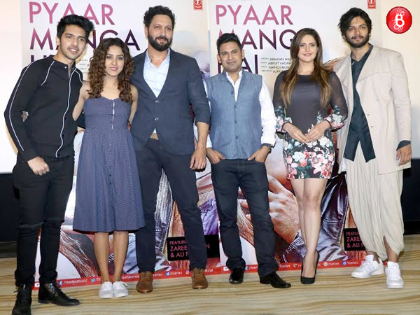 'Pyaar Manga Hai': Ali Fazal and Zareen Khan show off their sizzling chemistry at the launch