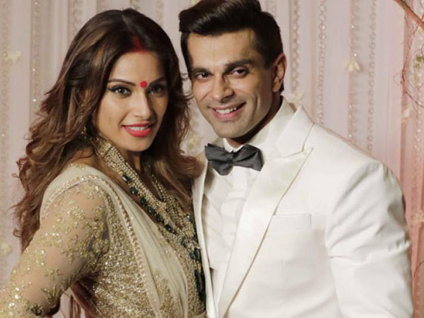 Bipasha and Karan in a movie