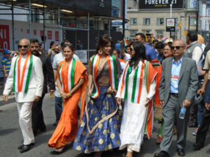 Neetu Chandra celebrates India's Independence Day in advance in Toronto