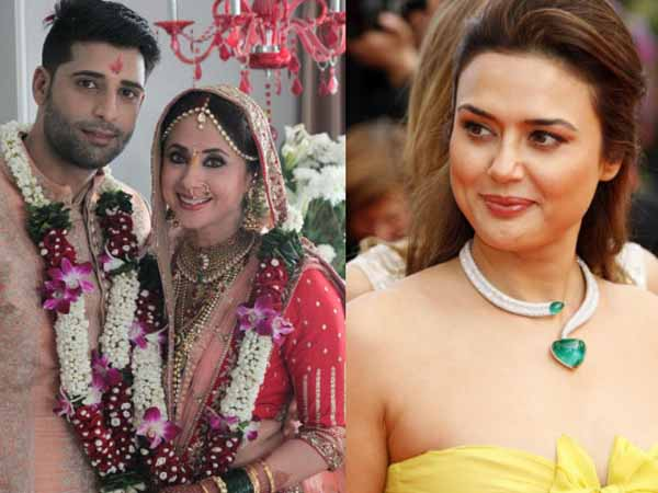 Urmila Matondkar's husband Mohsin Akhtar Mir and Preity Zinta share a past