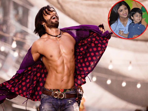 Shilpa Shetty's son dances on Ranveer Singh's song and proves that he is a star in the making!