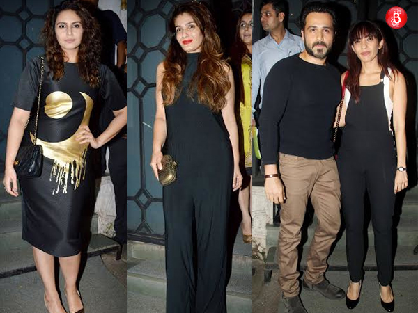 PICS: Emraan Hashmi, Vivek Oberoi and more stars spotted at a party