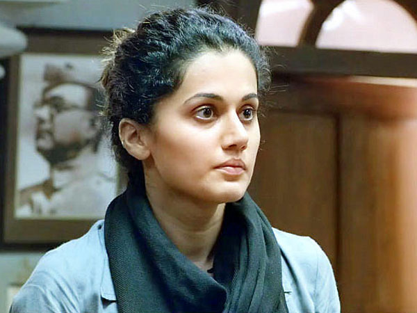 Tapsee Pannu's inspiration for her role in 'Pink' was a Lady Gaga song