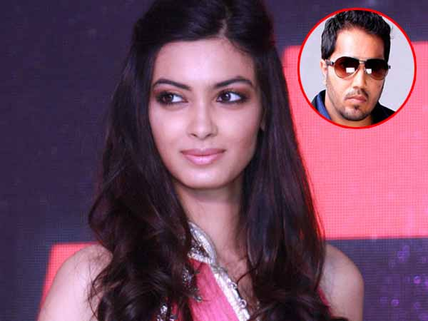 What? Is Diana Penty miffed at Mika Singh?