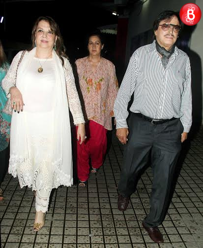 PICS: Sussanne Khan snapped with kids and parents on a movie
