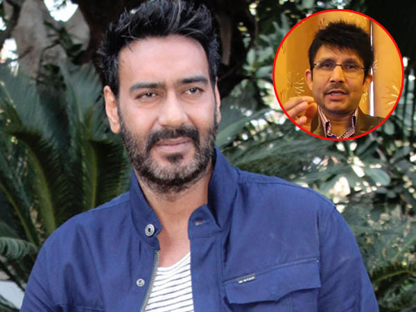 Ajay Devgn avoids commenting on Kamaal Rashid Khan's audio controversy
