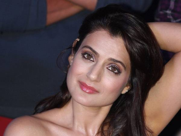Ameesha Patel shares a photo from her shower. Err... really?