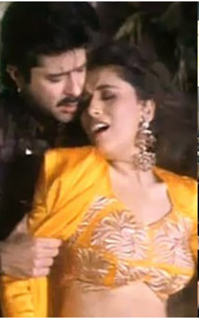 Anil Kapoor and Madhuri Dixit in 'Beta'