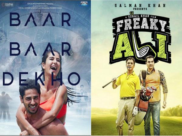 Second Weekend business of 'Baar Baar Dekho' and 'Freaky Ali' is miserable!