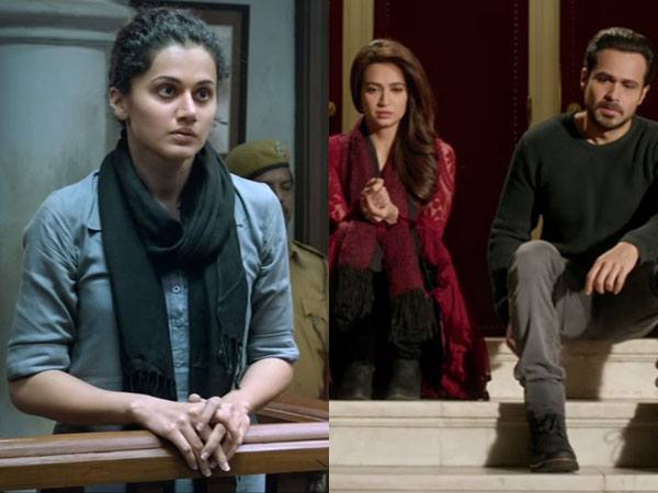 'Pink' remains steady on Tuesday, 'Raaz Reboot' is falling badly