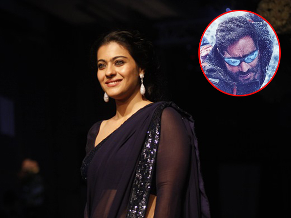 Here's what Kajol has to say about Ajay Devgn's upcoming directorial 'Shivaay'